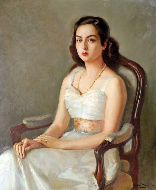 Retrato de Mujer Victor Moya Calvo