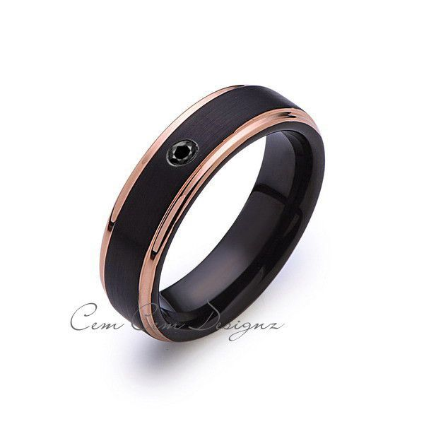 Thing Rose Gold Brushed Ring