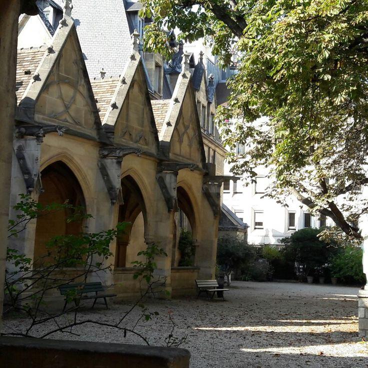 Cloître de l'église Saint-Severin