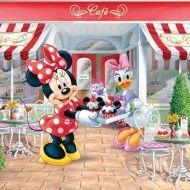 Fototapet Disney Minnie Mouse Sa mergem la shopping cu Minnie Mouse si Daisy Duck. Niciodata peretii camerei copilului nu au aratat mai bine! In culori vii, tapetul creaza o lume magica pentru copii. Interactiv si educational, tapetul ofera posibilitatea copiilor de a identifica personaje, animale, obiecte si culori precum si de a numara, cauta si visa… Perfect pentru orice camera sau dormitor de copii!