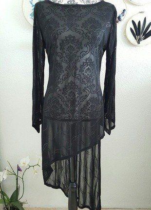 Kaufe meinen Artikel bei #Kleiderkreisel http://www.kleiderkreisel.de/damenmode/kleider-abendkleider/150349955-3-teiler-in-schwarz-mit-glitzer-abendkleid-asymmetrisches-kleid