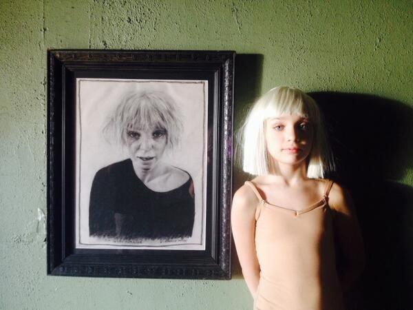 Chandelier #Sia #Maddie