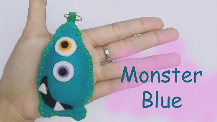 Monster Friends Blue Craft For Kids - Easy Craft Handmade - Nursery Rhym...