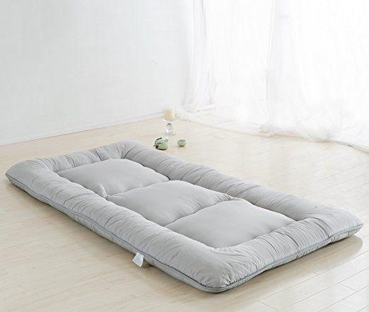 Amazon.com: Light Pink Futon Tatami Mat Japanese Futon Mattress Cheap Futons  For Sale