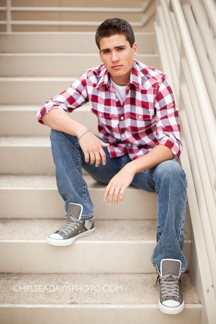 Senior Boy Pose Bleachers Or Stairs  Seniors  Pinterest  Boy Poses, Senior Boys And Pose-9157