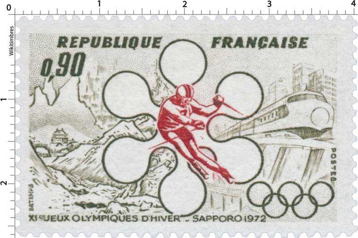 France, JO d'Hiver Sapporo 1972