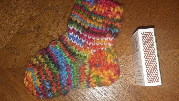 Mini Knit Sock