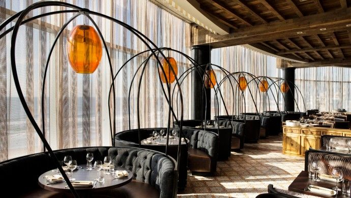 Revel: Jose Garces serves tasty Spanish tapas in ocean-facing Amada restaurant.