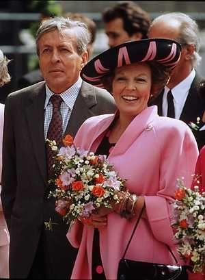 Koninginnedag - Beatrix en Claus