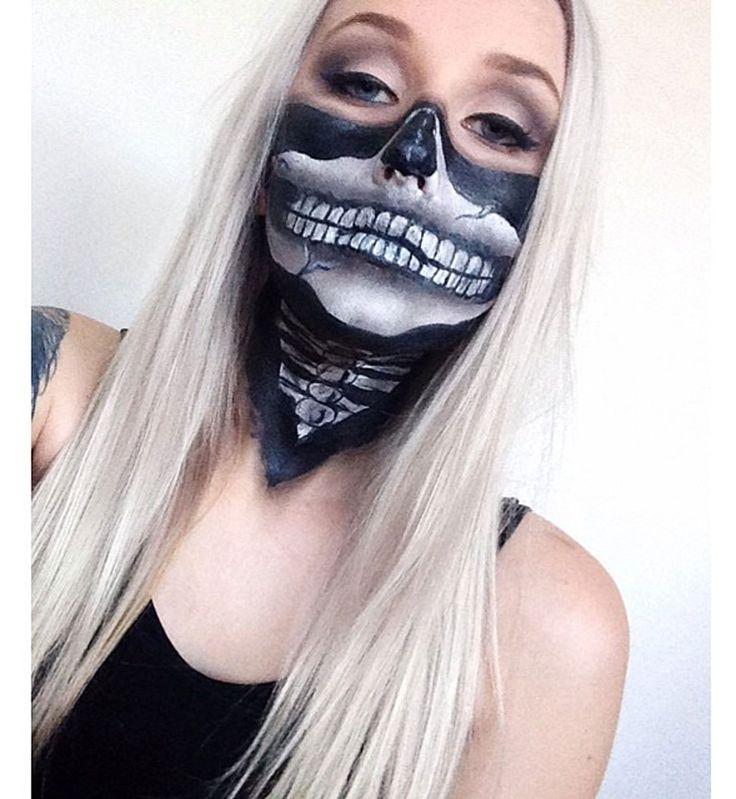 Maquillage d'Halloween : le bandana zombie                                                                                                                                                                                 Plus