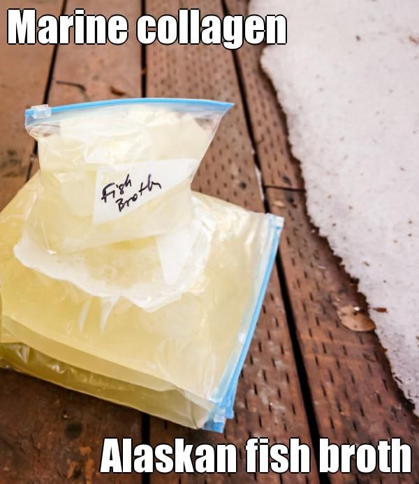 How to make Marine collagen rich Alaskan fish broth, delicious variety to add to your broth protocols   (courtesy of @Pinstamatic http://pinstamatic.com)