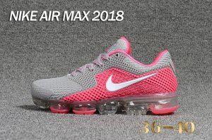 80811a04d9635 Womens Shoes Nike Air Max 2018 Kpu Grey Pink White