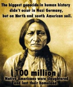 100 Million slaughtered and displaced.