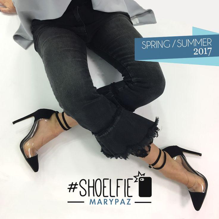 ¡ Ya estamos en el ecuador de la semana, feliz día !  Compra ya este STILETTO aquí► http://www.marypaz.com/trendy/stiletto-vinilo-con-pulsera-0136817v002-76541.html  New Collection Spring-Summer 2017  #SoyYoSoyMARYPAZ #follow #spring #summer #fashion #verano #colour #tendencias #marypaz #locaporlamoda #BFF #igers #moda #zapatos #trendy #look #itgirl #primavera #SS17 #igersoftheday #girl #shoponline #online #compraya