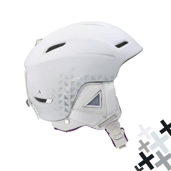 Salomon Aura Auto Custom Air White este o casca de schi/snowboard pentru femei cu fitul ovalizat, dispunand de sistemul Custom Air si de catarama magnetica, fiind extrem de confortabila.