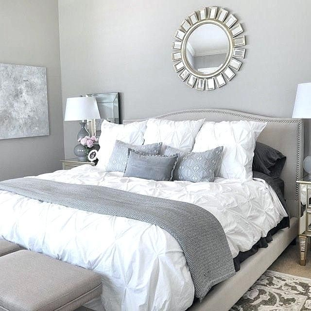 Silver Grey Paint Stunning Grey And Silver Bedroom Ideas Silver