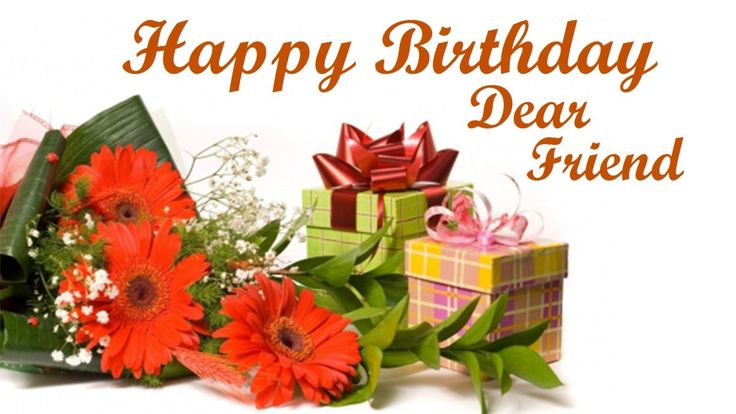 Happy Birthday Dear Friend Images & HD Pictures