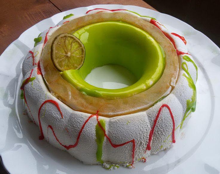 """Торт """"Mount Kinabalu"""". Первая версия :) - Кулинарные записки безумного зайца Цитрусы-манго-ананас"""