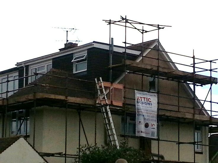 The 122 best images about hip to gable on pinterest for Roof dormer design plans
