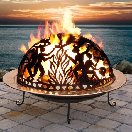 I pinned this Large Full Moon Party Fire Dome from the Heathwood Living event at Joss and Main!
