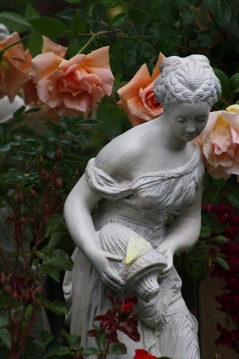 I grew up with this very same statue. My sister & I broke it many times doing cartwheels in the house, and my poor mother loved her so much, she'd reglue her every time. Still looking for one. If anyone finds her, will you please come back and pin where I can buy her from? She goes by the name Adrianne/Adrienne.
