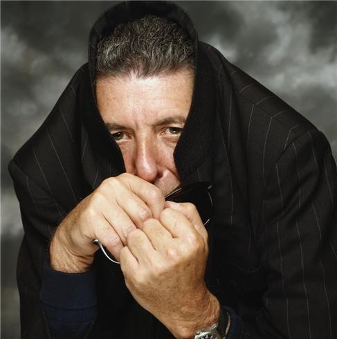 Leonard Cohen by Terry O'Neill.