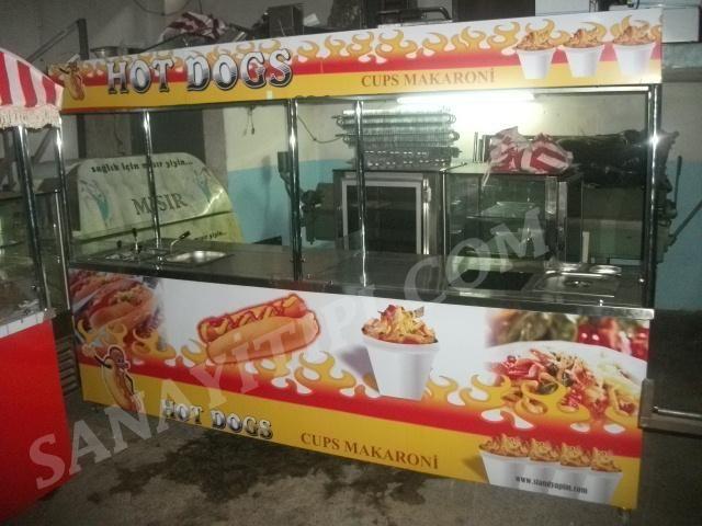Hotdog Bardakta Makarna Standı » - Sanayi tipi