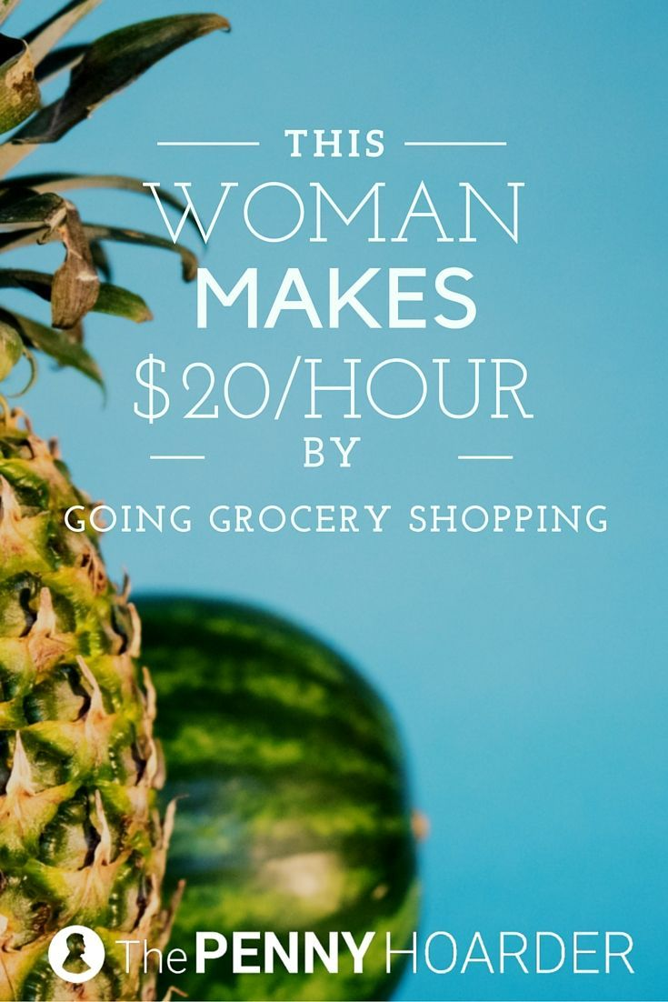 Want to get paid to shop for groceries? This Shipt shopper buys and delivers groceries to customers, and she makes as much as $20 per hour. - The Penny Hoarder http://www.thepennyhoarder.com/shipt-shopper/