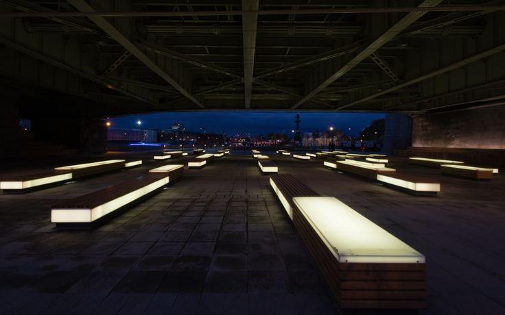 urban street landscape lighting - Google 검색