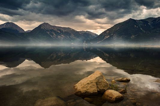 Twin Lakes, Colorado, near the base of Mount Elbert.