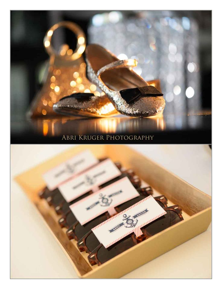 Sunglass wedding favours, by Secret Diary.