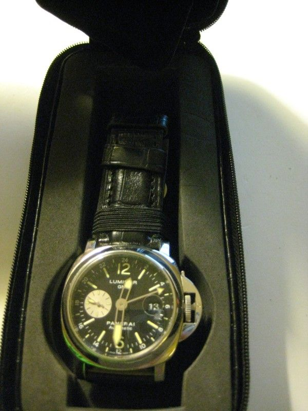 Panerai Luminor GMT Pam 88 Stainless Steel Automatic with Date 44mm
