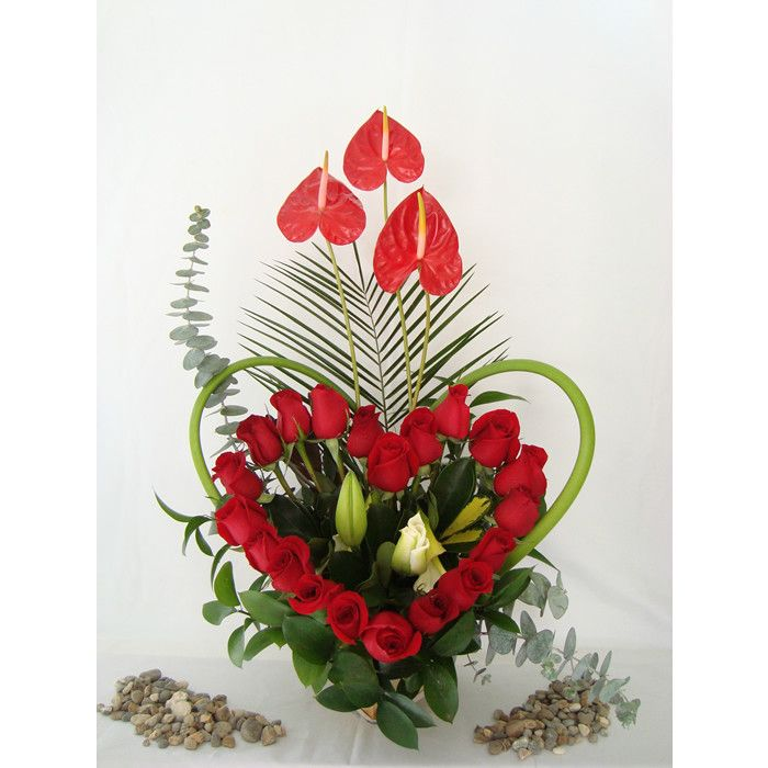 25 melhores ideias sobre grandes arranjos de flores no - Ramos de flores grandes ...