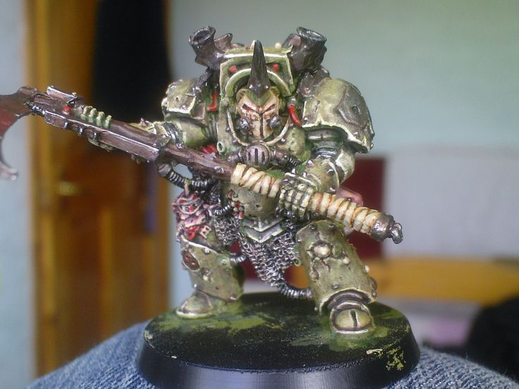 Typhus...Loved painting this one