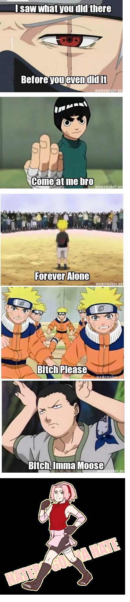 aa866bb92fd2309759805aae1765f536 naruto x shikamaru yaoi kakashi 114 best funny naruto memes images on pinterest funny naruto,Memes De Naruto