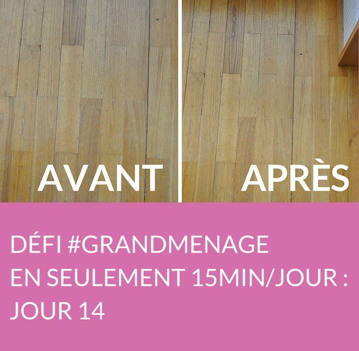 Jour 14 du défi #GRANDMENAGE : apprenez à nettoyer le parquet et les murs de votre chambre. Suivez jour après jour le défi #GRANDMENAGE de la rédac' : http://www.deco.fr/nettoyage/actualite-769410-defi-menage-15-minutes.html