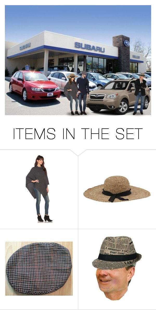 """""""Sunday Afternoon Jack Took Finn & Rosy Car Shopping While Anna Kept Annie…They Checked Out the Nissan Lot Where Doc Had Found Fred's Cargo Van, as Well as the Honda, Toyota & Subaru Dealers…They Ended Up With a Used Beige 2014 Forrester for $19,888"""" by maggie-johnston ❤ liked on Polyvore featuring art"""