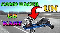 go kart casero - YouTube