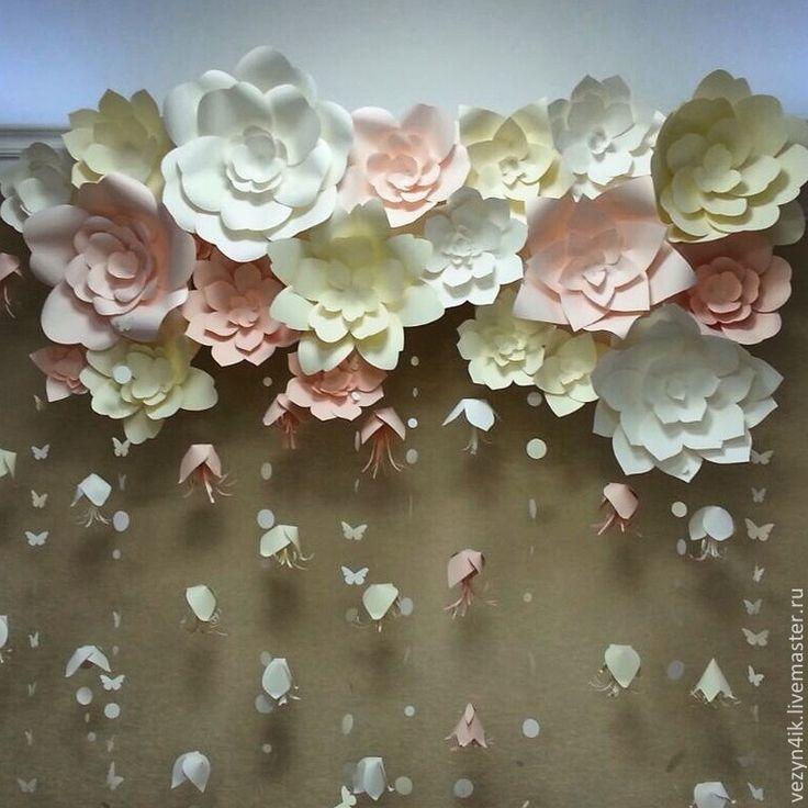 цветы из бумаги - Поиск в Google