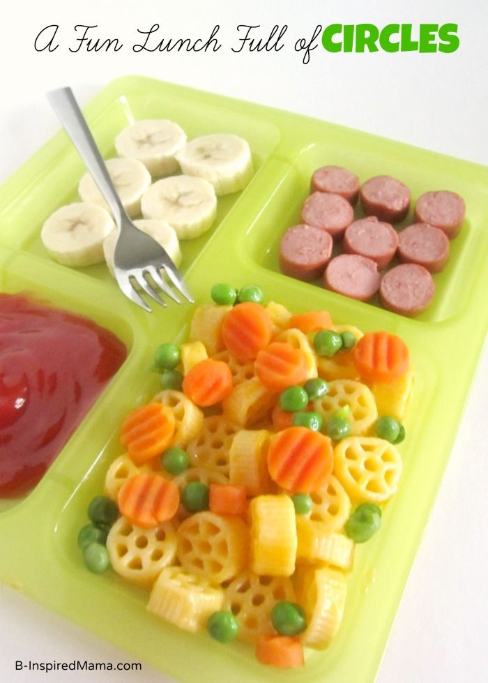A Fun Lunch Full of Circles [Sponsored by Michelina's] - #kids #parenting
