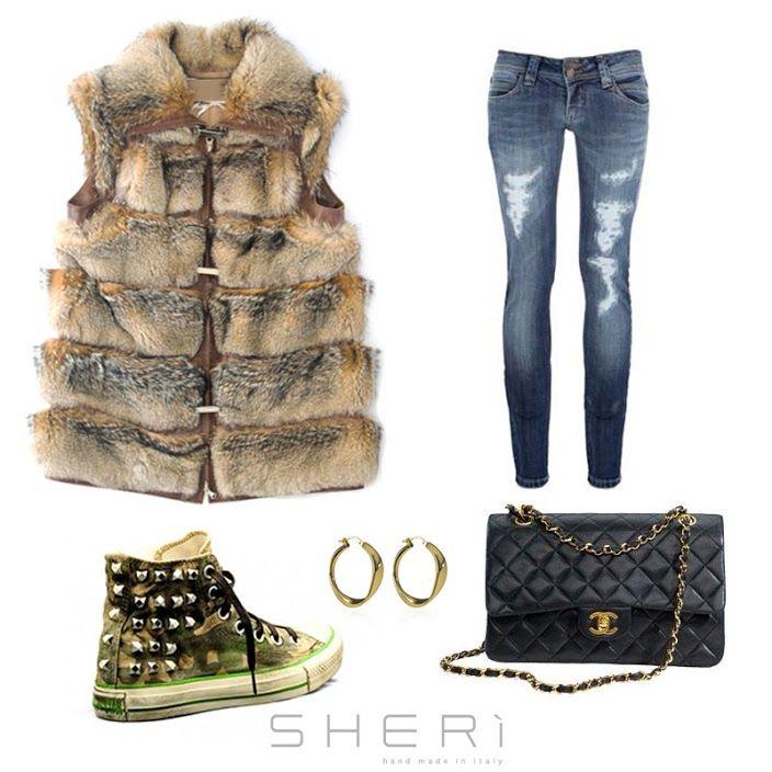 Ecco cosa vi propone #SHERì da indossare questo fine settimana. www.sheri.it - @voguequeencom @ffurbrand @fursource #fur #fashion #handmade #madeinitaly