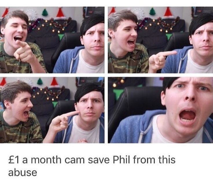 Please donate to save phil all proceeds will go to the Stop the Abuse foundation for Phil Lester, let's all cone together and save him from Dan