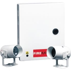 SECURITATE :: Antiincendiu :: Bariere de fum :: SET BARIERA OPTICA DE FUM FIRERAY 2000