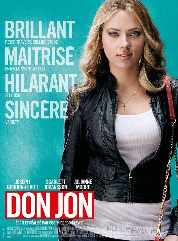 """La glamour Scarlett Johansson s'affiche pour """"Don Jon"""" [PHOTO] - News films Vu sur le web - AlloCiné"""