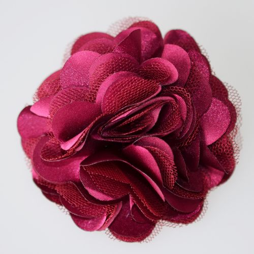 Hair-flower-corsage-flower-clip-pin-fabric-flower-Wine-Red-110081G-Deliver-from-Germany.jpg (500×500)