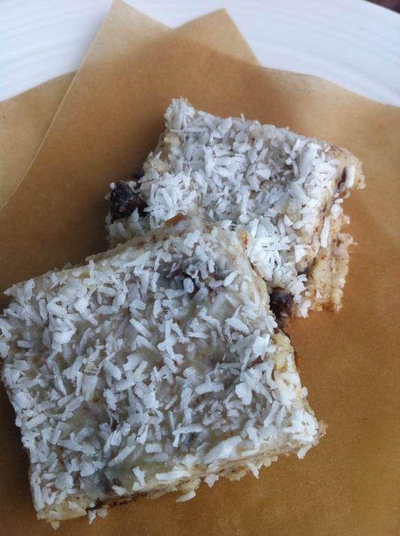 coconut crunch bars