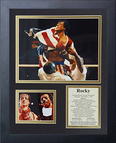 11x14 FRAMED ROCKY BALBOA THE MOVIE CAST 1976 SYLVESTER S...