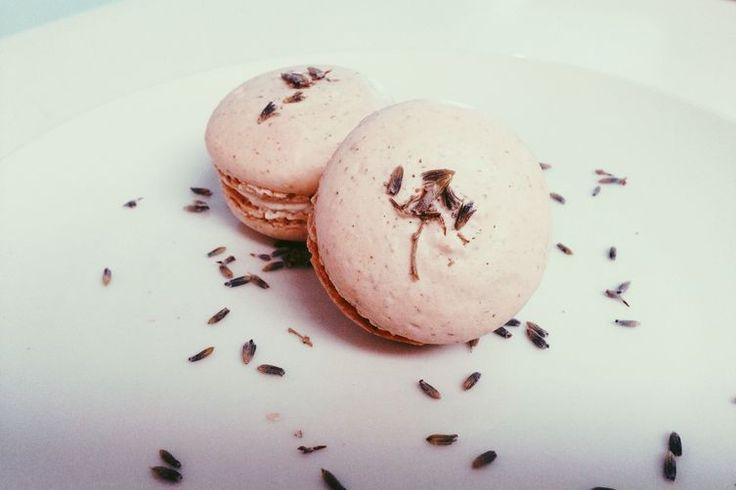 Lavender Macarons with Early Grey and Honey Lavender Buttercream: recipe on Food52