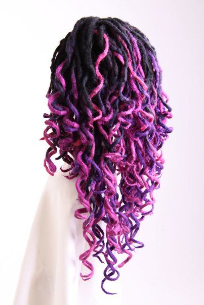 Curly Yarn Dreads!                                                       …