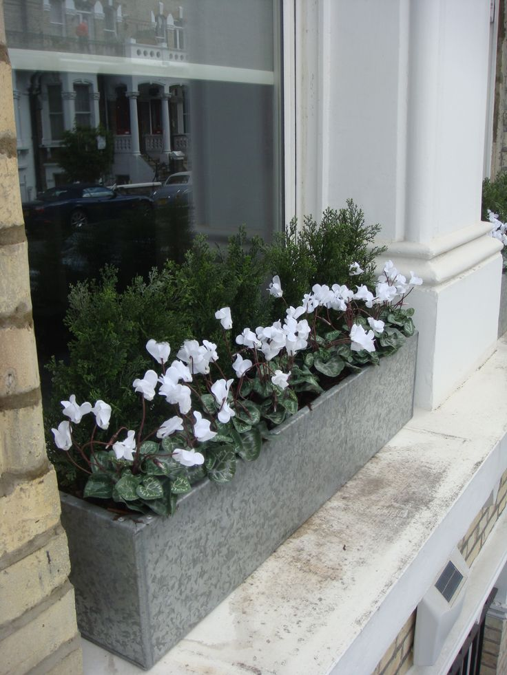 Zinc Window Boxes